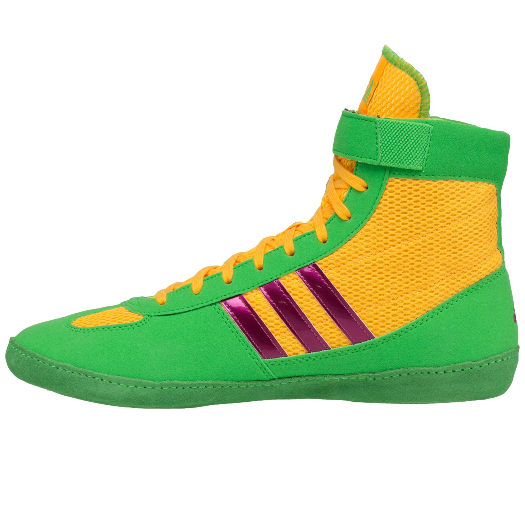 cheap for discount 91d2b ae833 ... Combat Speed 4 Green Yellow Pink frontAdidas Combat Speed 4 Green  Yellow Pink backAdidas Combat Speed 4 Green Yellow Pink sole