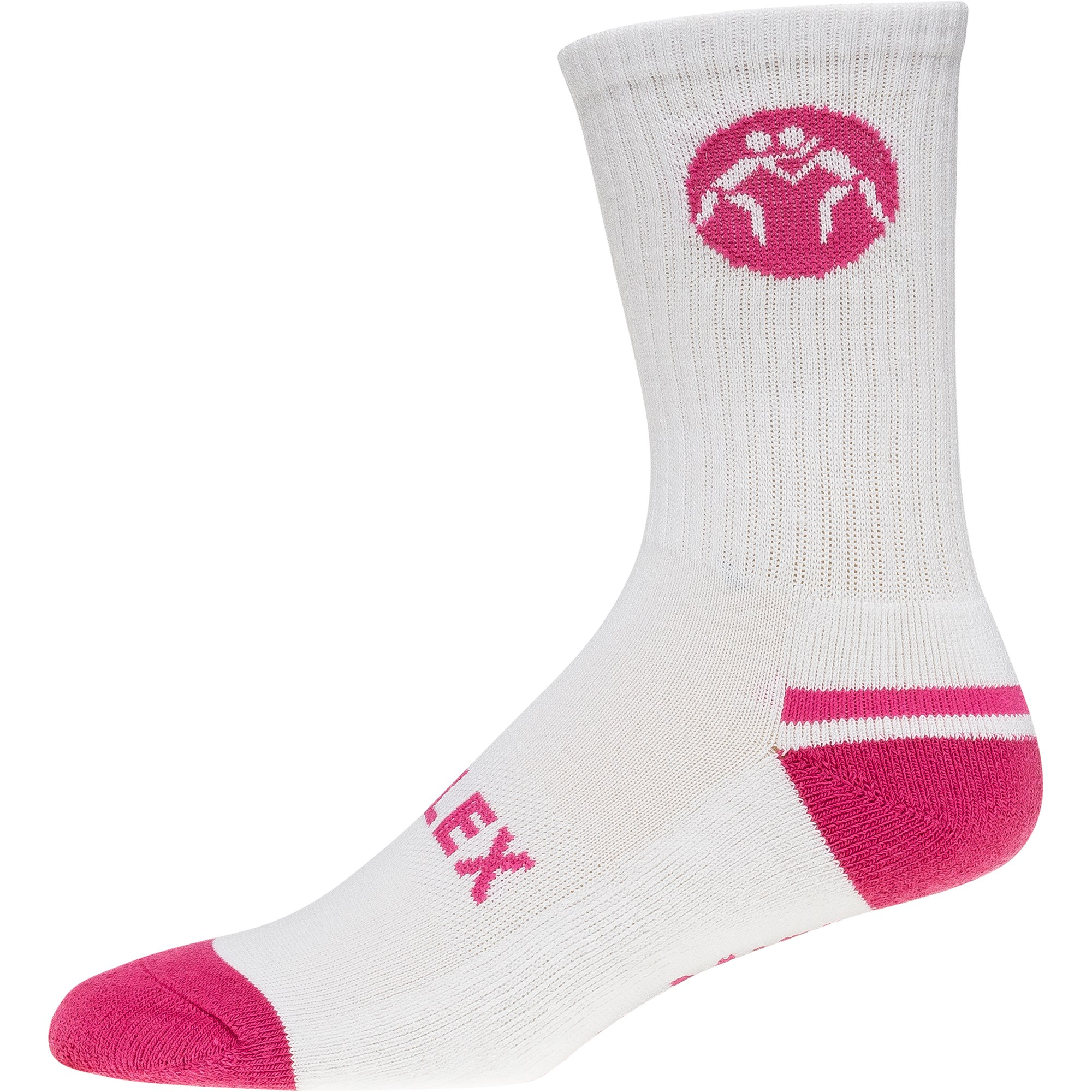 c9ceb8d1b86 ... Sock White Pink frontSuplex Sock White Pink sole