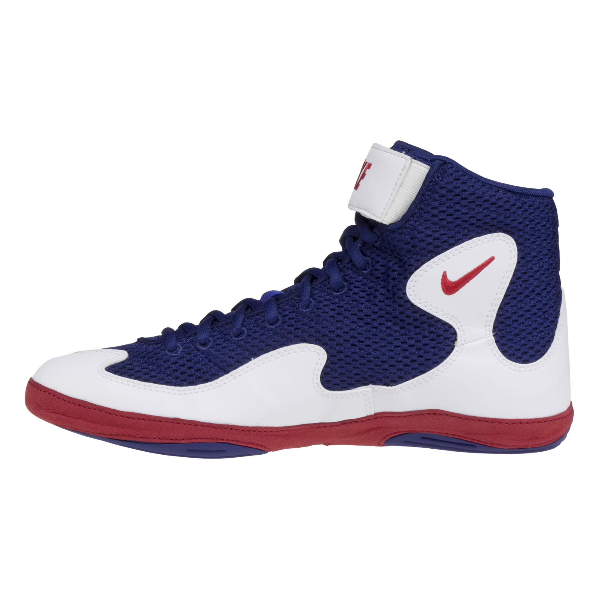 f866361b7084b6 ... outsideNike Inflict 3 Royal Blue Red White ...