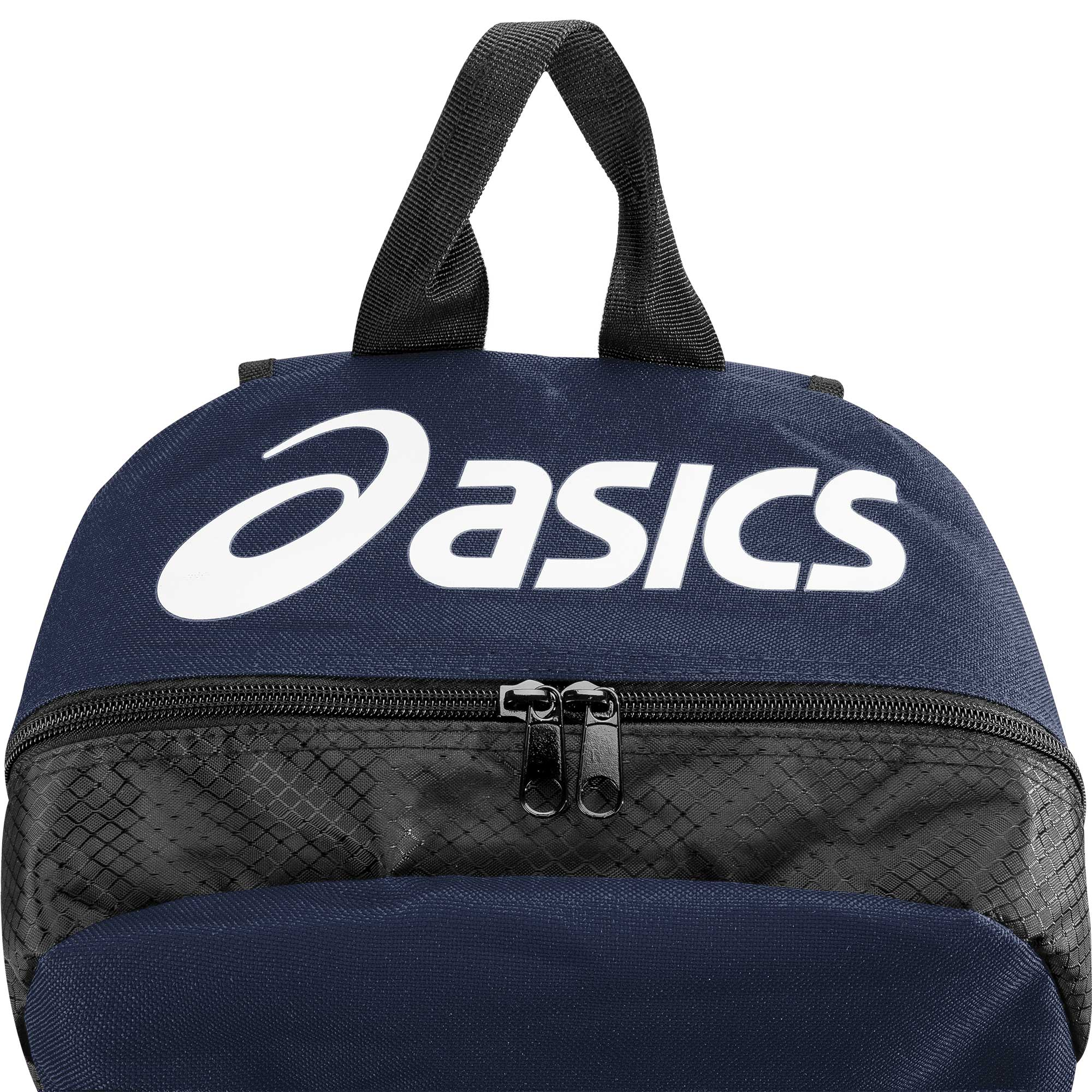1062b2589c01 ASICS Team Backpack Navy Black mainASICS Team Backpack Navy Black backASICS  Team Backpack Navy Black ...