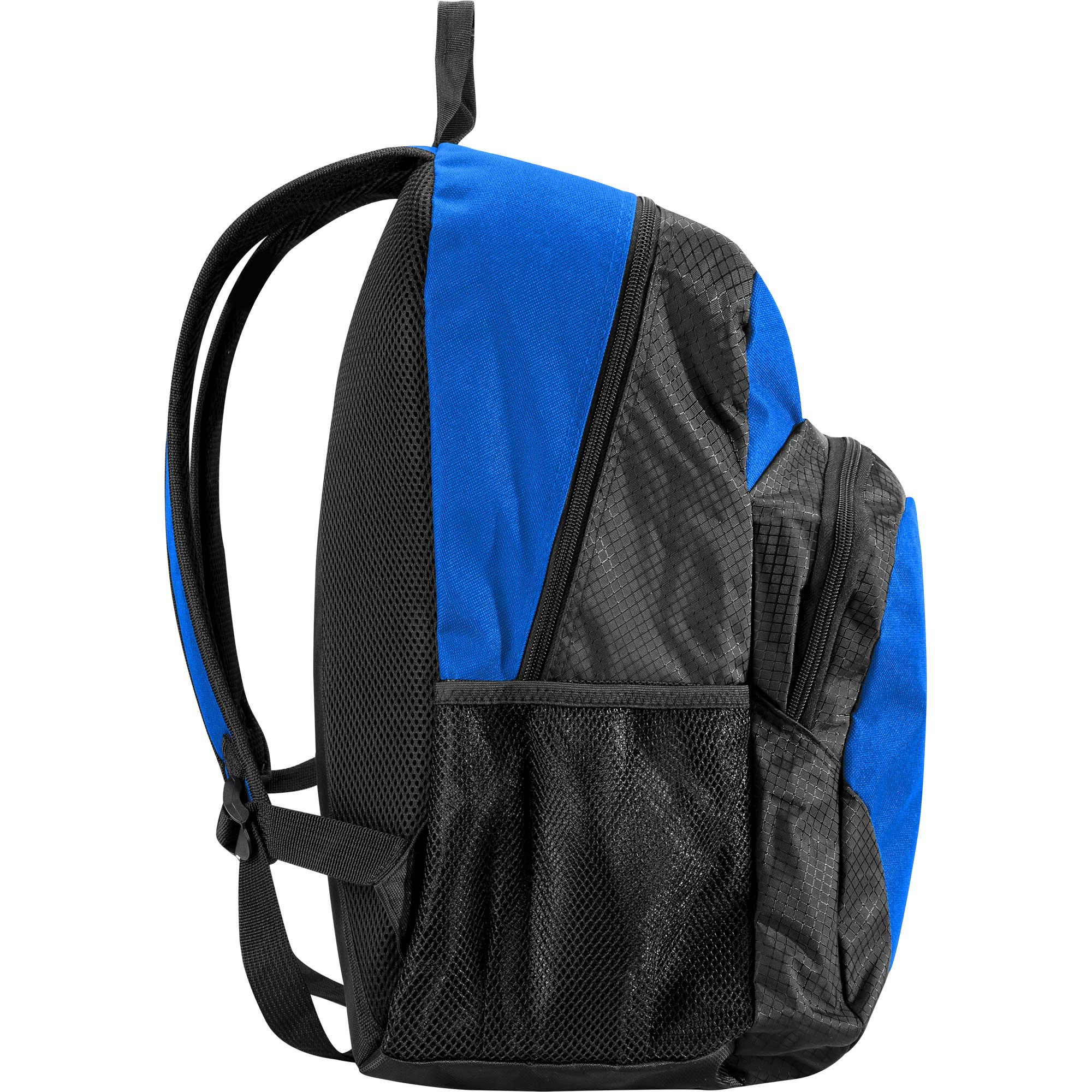Junior Standard Hype Double Fade Backpack Blue//White//Navy Adjustable straps