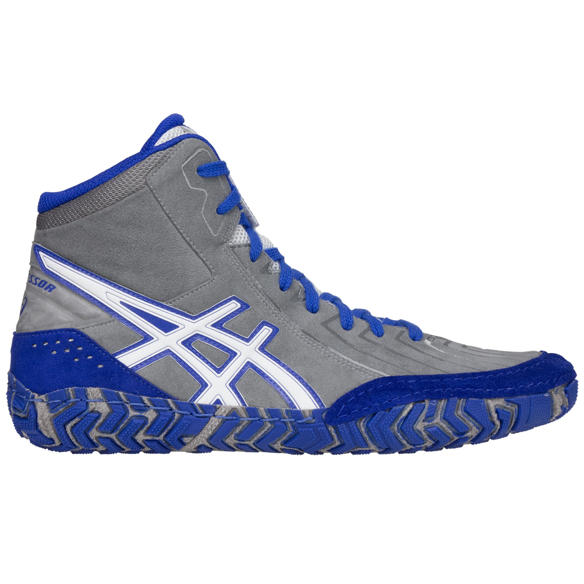 Asics Navy Blue And Gold Running Shoes