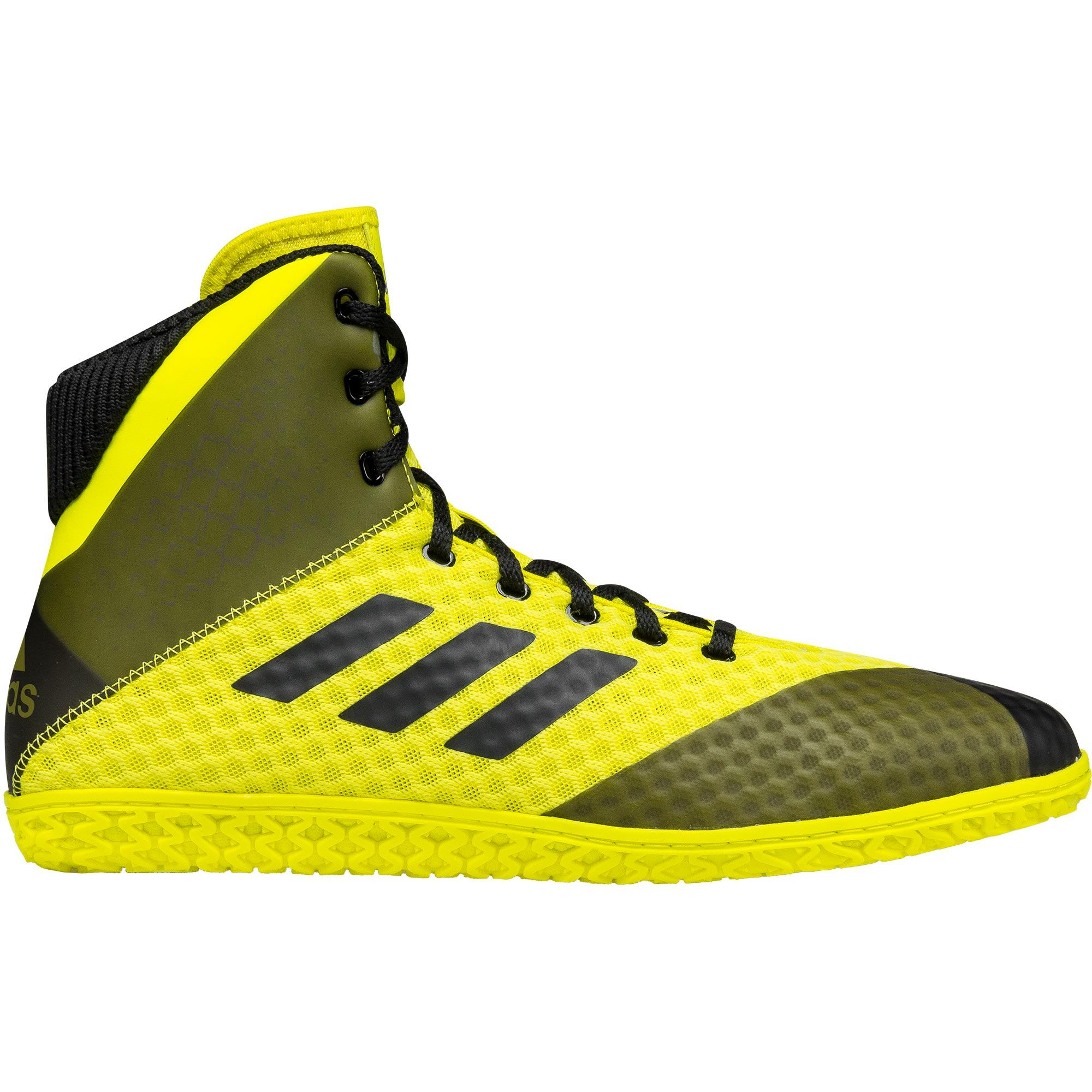 save off fa0a6 c93a1 ... Mat Wizard 4 Yellow Black frontAdidas Mat Wizard 4 Yellow Black  backAdidas Mat Wizard 4 Yellow Black soleAdidas Mat Wizard 4 Yellow Black  top