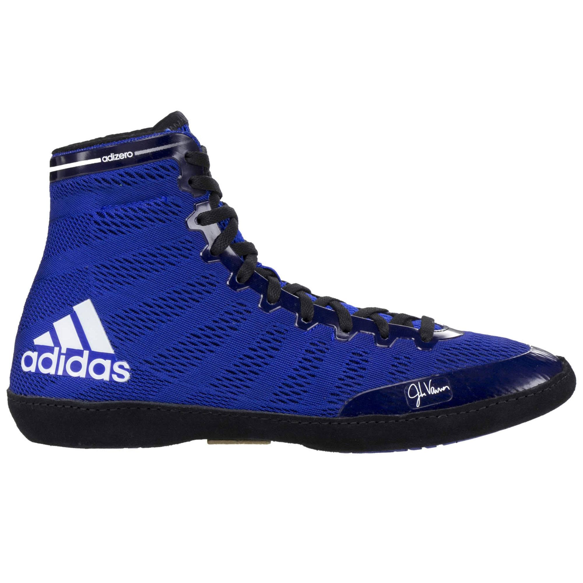 23a4b8f45c71 Adizero Varner Royal Blue Black outsideAdizero ...
