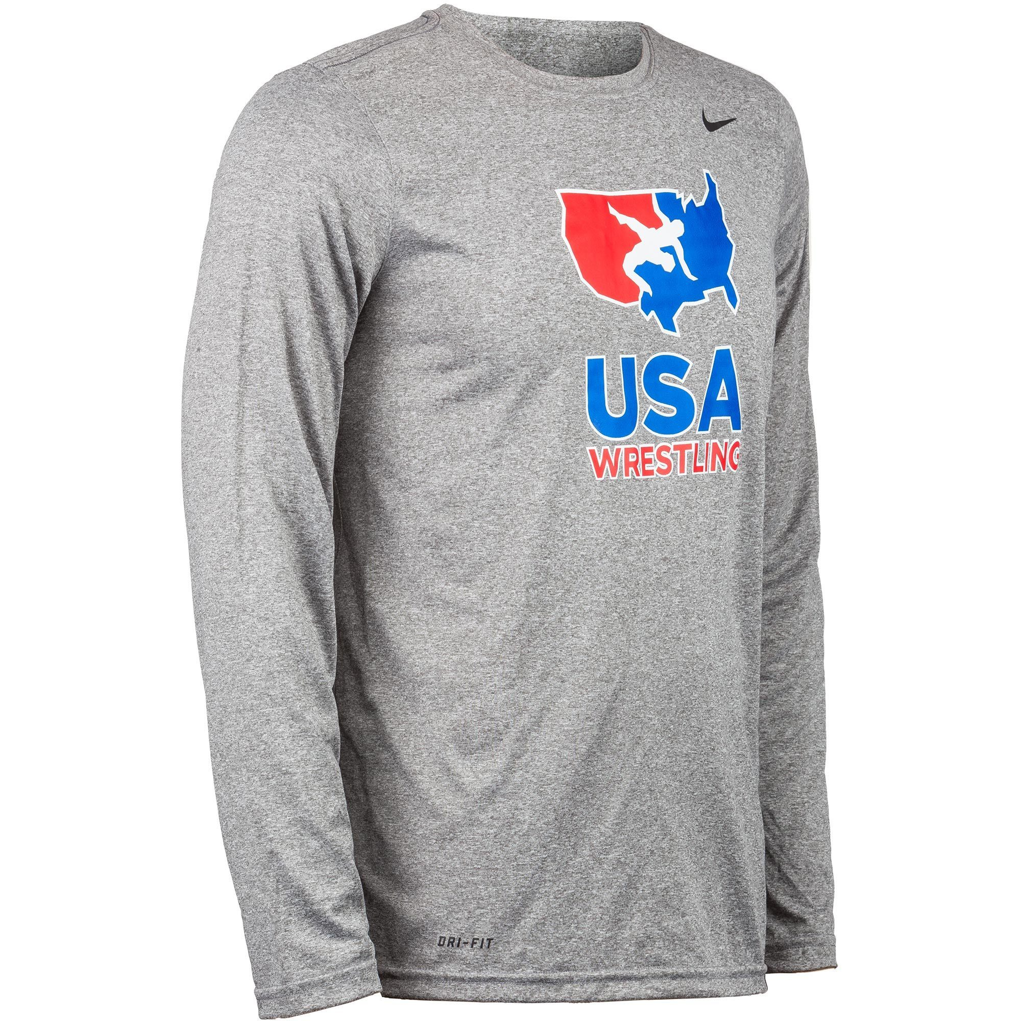 823f8d5a6 Nike USAWrestling Training Long Sleeve Tee Apparel | WrestlingMart ...