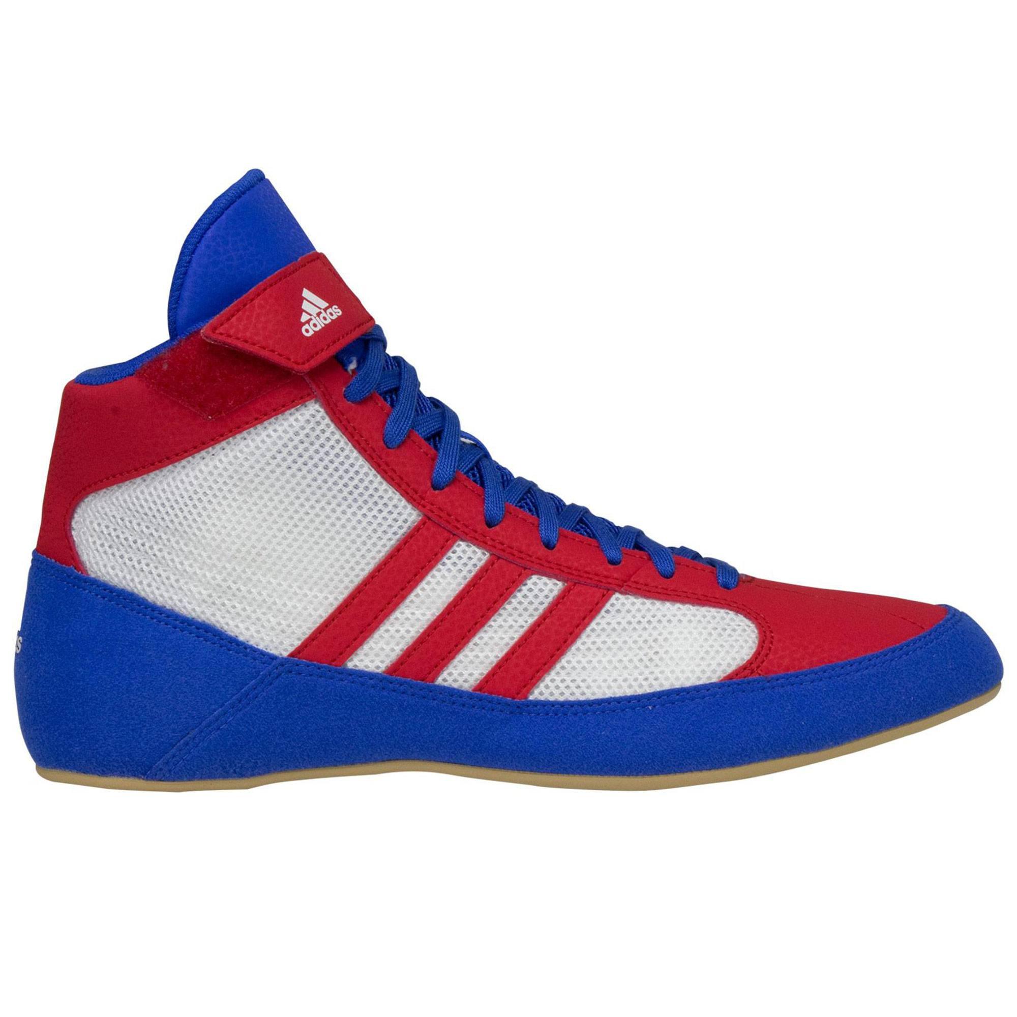 556b03f1fc4276 Adidas Laced Youth Hvc 2 Blue Red White ...