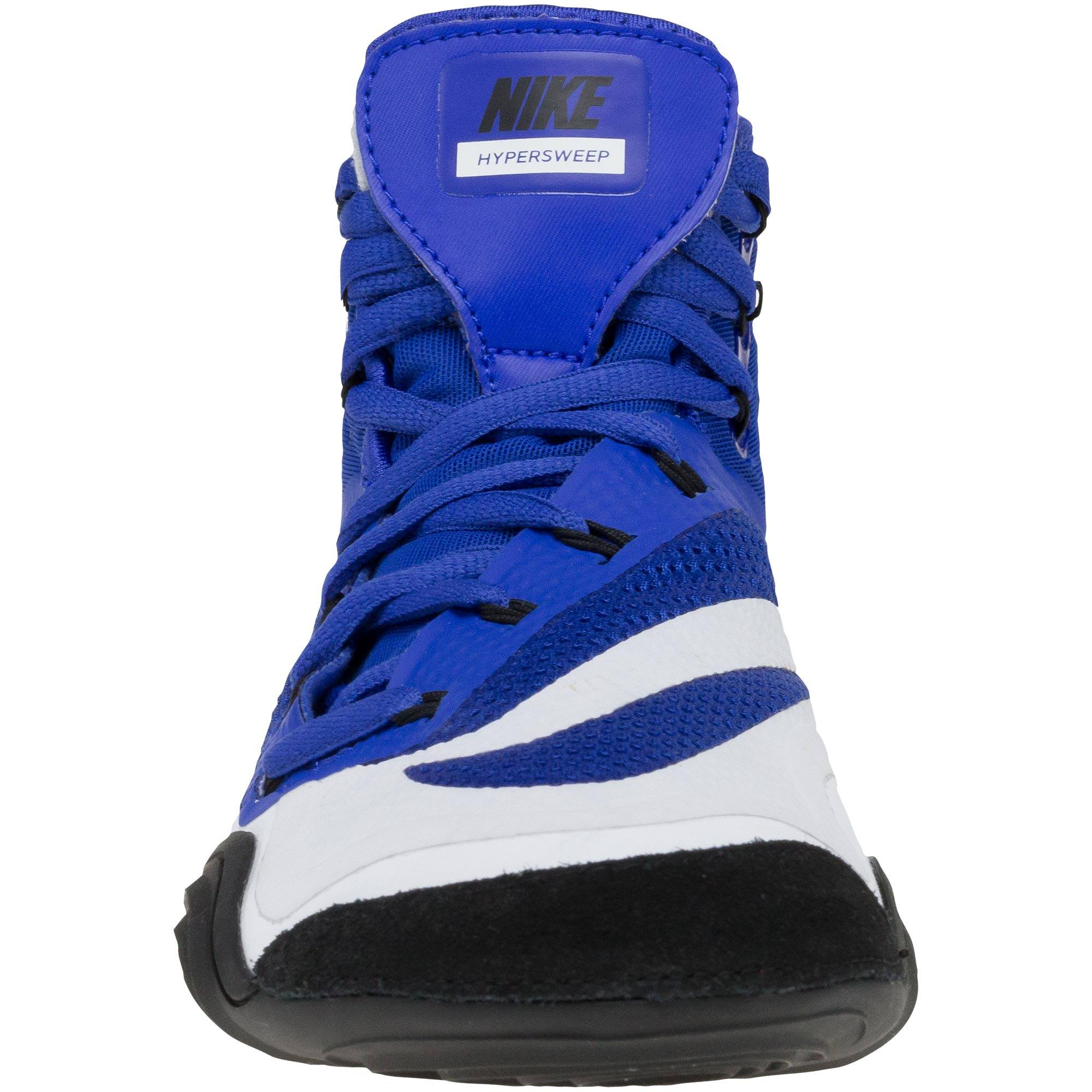 detailed look ee941 2aaf1 ... Hypersweep Royal Blue Black White soleNike Hypersweep Royal Blue Black  White back