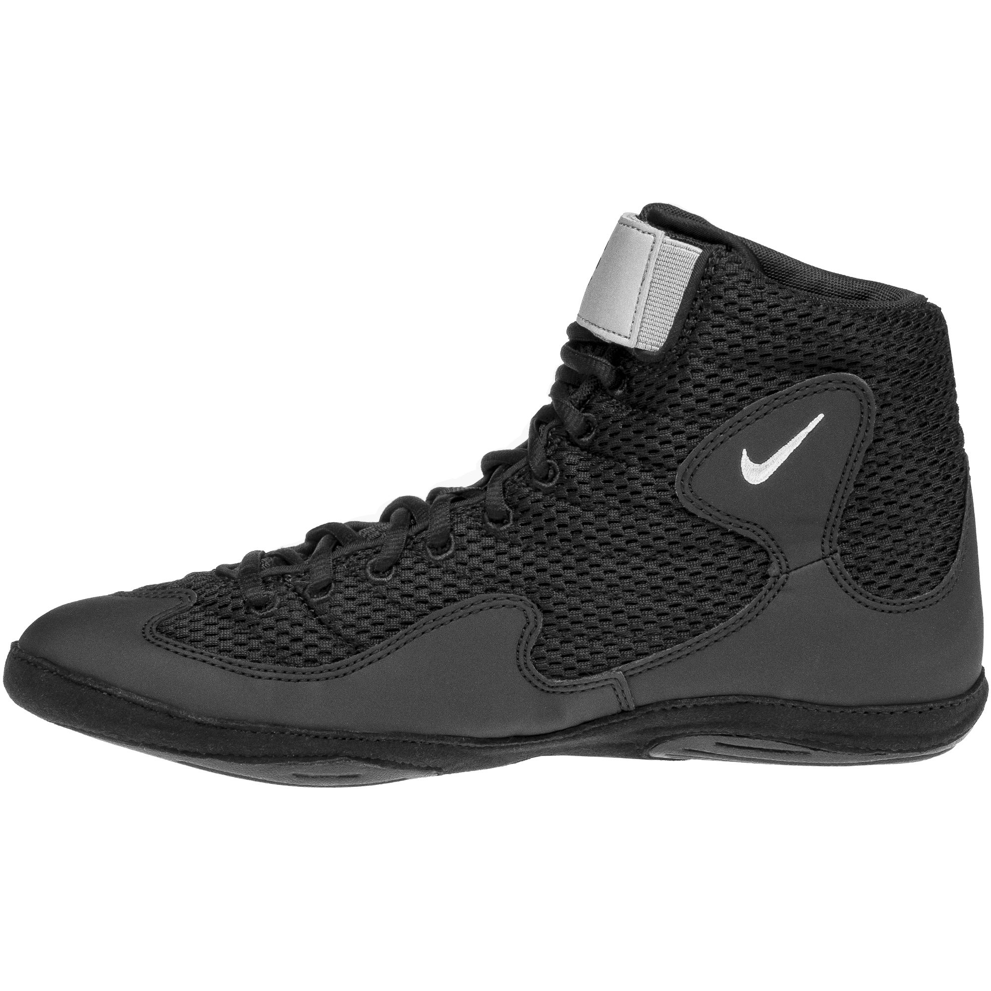best sneakers e4590 7658d ... Inflict 3 Black Silver frontNike Inflict 3 Black Silver backNike  Inflict 3 Black Silver sole