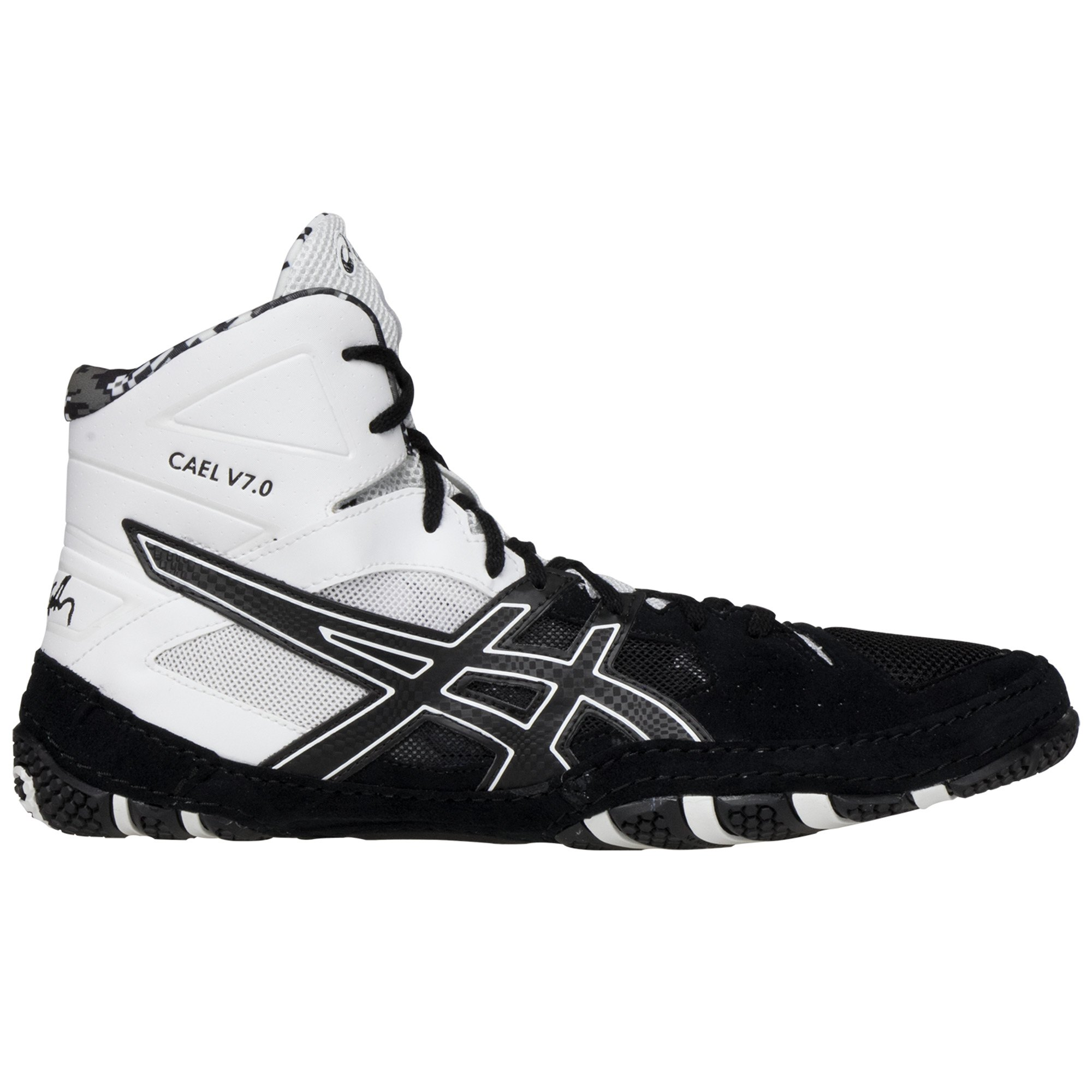 9035471428ec ... Cael V7.0 Black Black White insideASICS Cael V7.0 Black Black White  frontASICS Cael V7.0 Black Black White backASICS Cael V7.0 Black Black  White sole