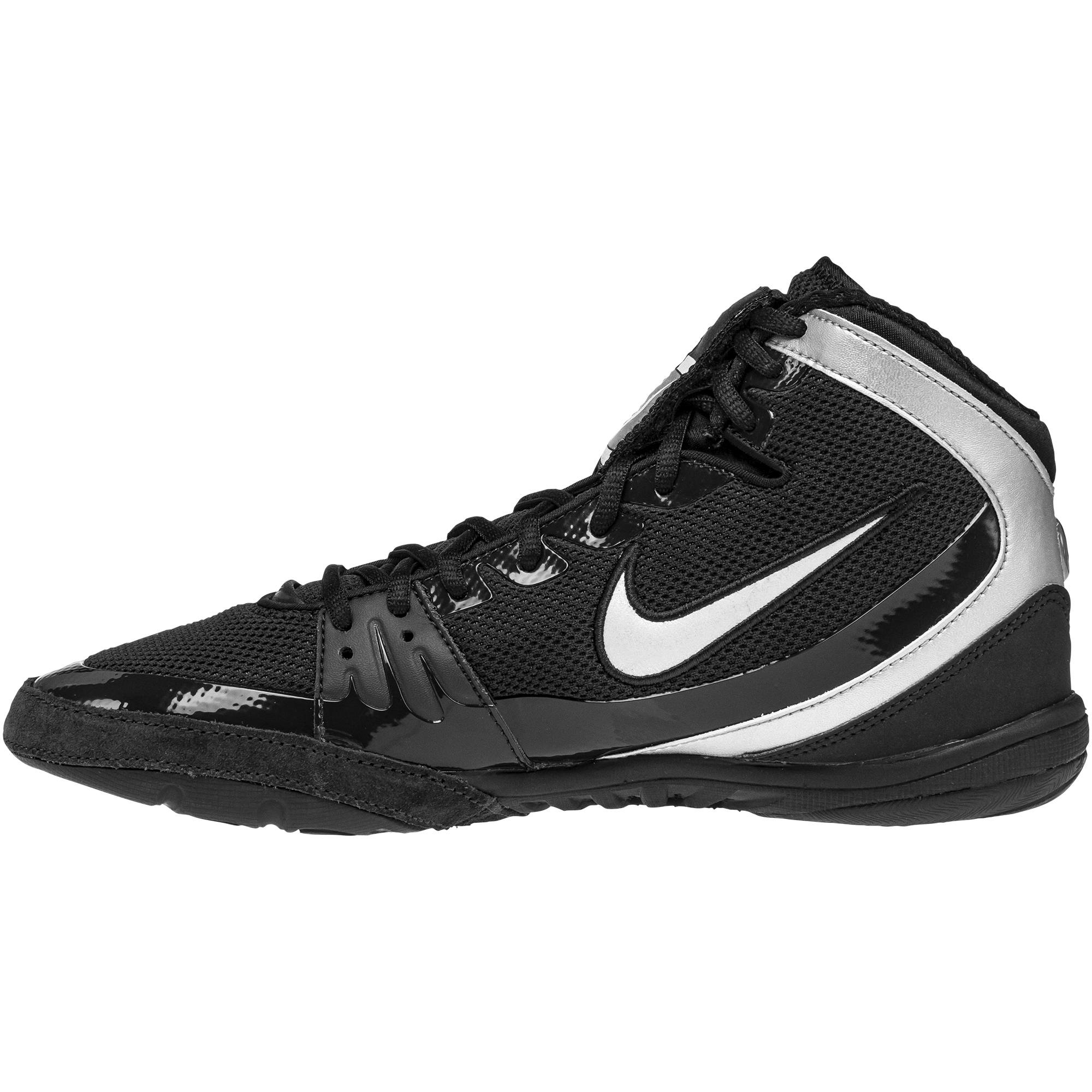 super popular 25200 51f5f ... Freek Black Silver backNike Freek Black Silver frontNike Freek Black  Silver sole