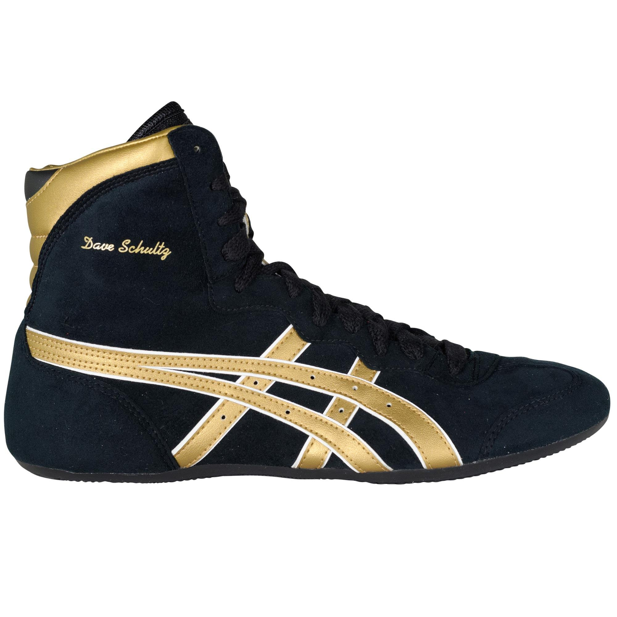 asics black and gold womens