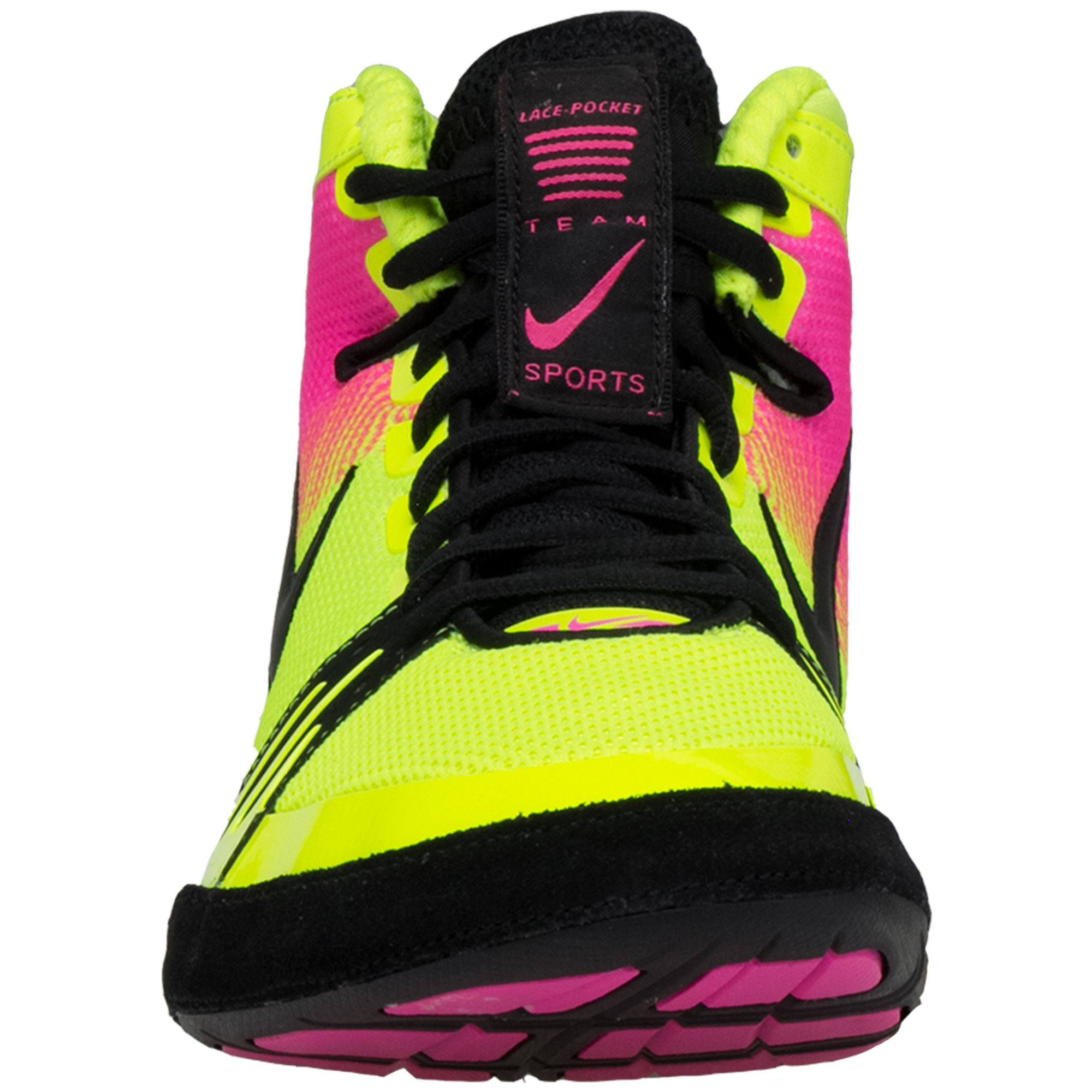e4c7958aa27 Nike Freek Unlimited. Ask us a question about this product. Yellow   Hot  Pink   Black