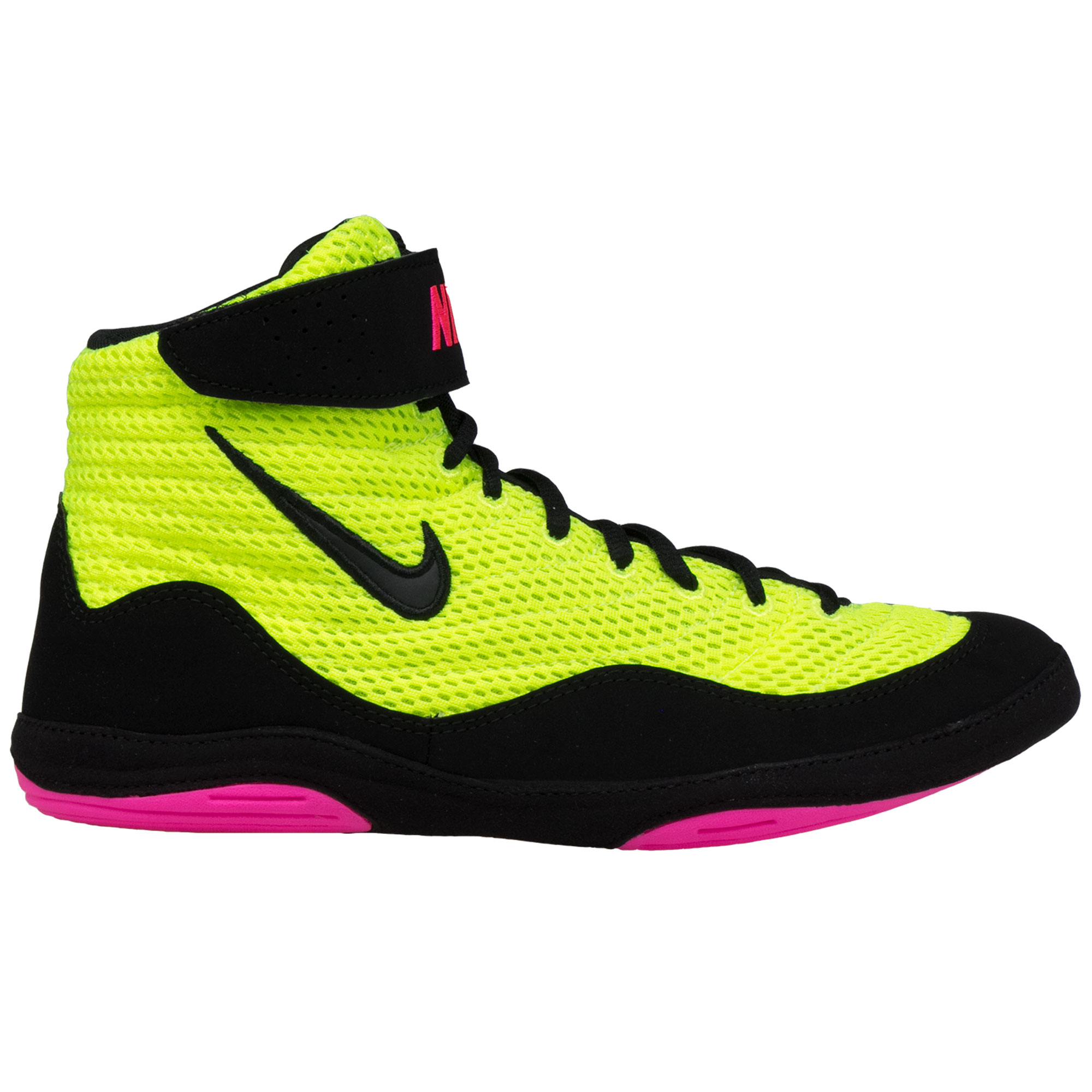 Black And Yellow Nike Wrestling Shoes
