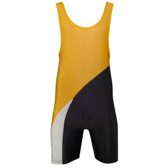 Matman Georgia Singlet Yellow Black