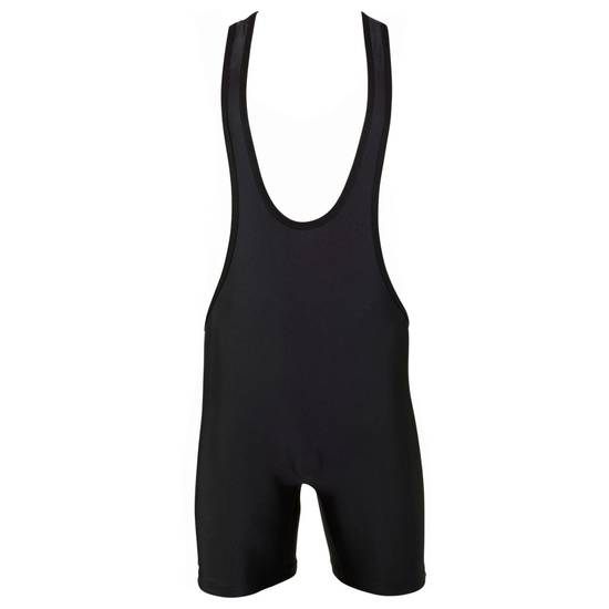 Matman Goodwill Low Cut Singlet Black