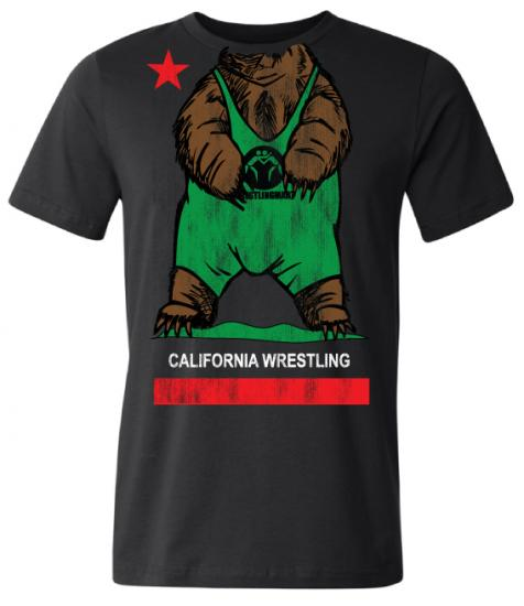 Black California Bear Shirt