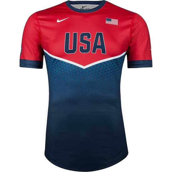 CA USA 2018 Team Shirt Blue