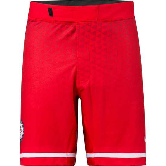 CA USA 2018 Team Fight Shorts Red