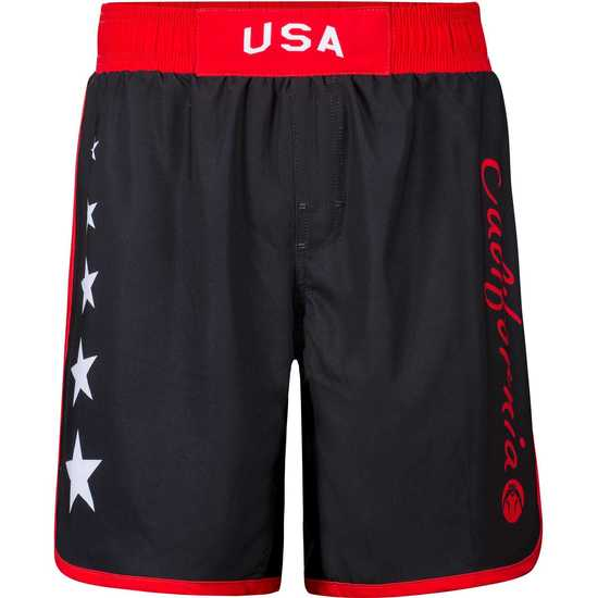 CA USA 2018 Team Fight Shorts White