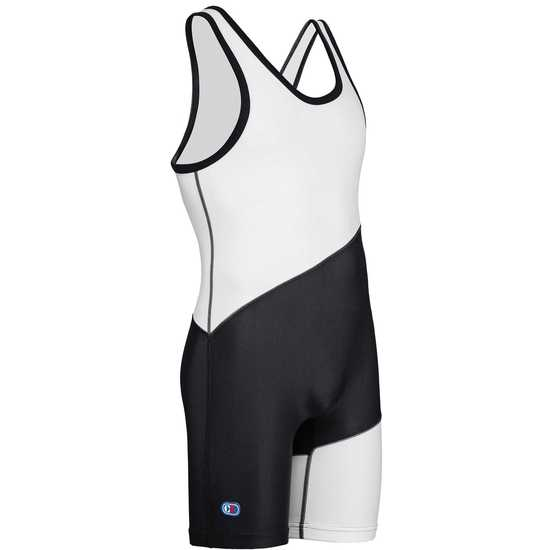 Cliff Keen Escape Wrestling Singlet Black