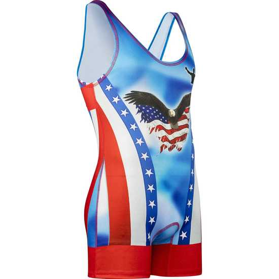 Red Feather Singlet