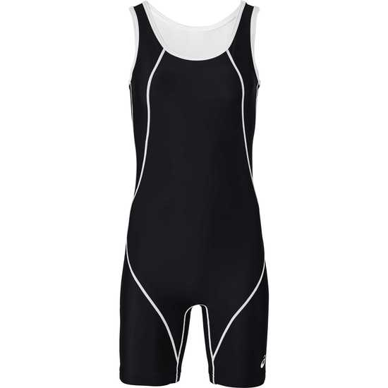ASICS Women's Snap Down Wrestling Singlet black