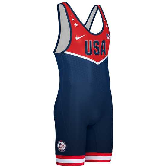 CA USA 2018 Team Mens Singlet Navy