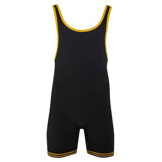 Matman Doubleknit Nylon Gold Black