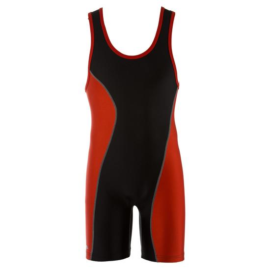 MatMan 330 Legacy Wrestling Singlet Black Orange