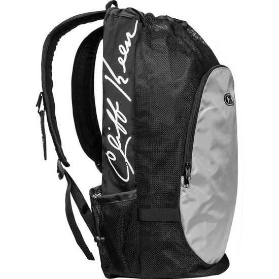 Cliff Keen Back Pack-Black-Grey