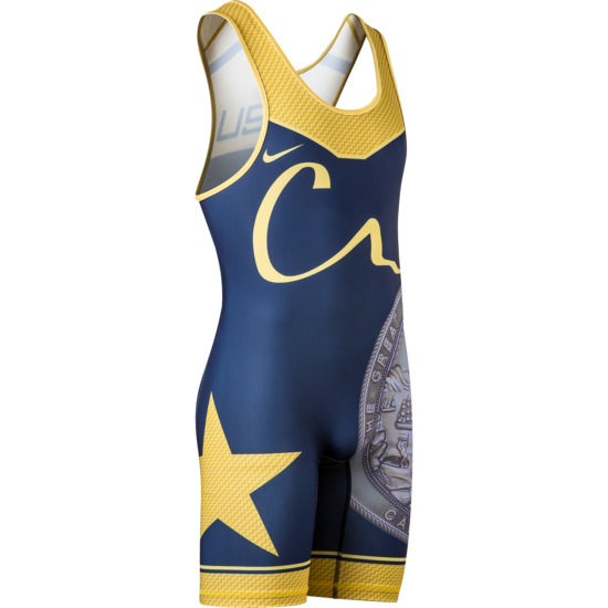 CA USA 2017 Team Mens Singlet Navy