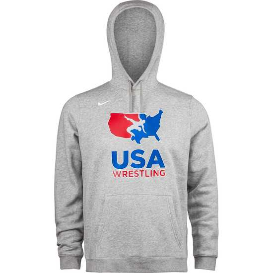 NK Mens USAWR Club Fleece Pullover Hoody