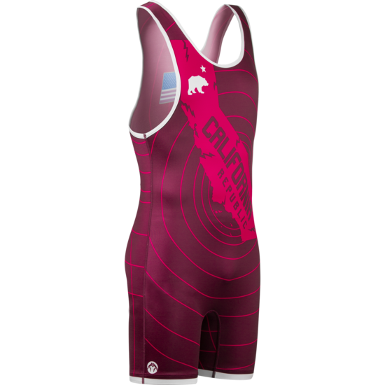 WM CA Republic Quake Singlet Red