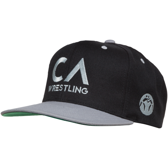 WM CA Wrestling Snap Back Black/Grey