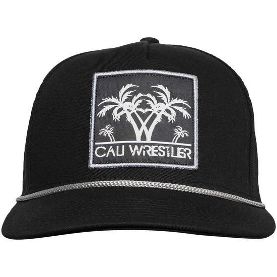Cali Wrestler Hat Black