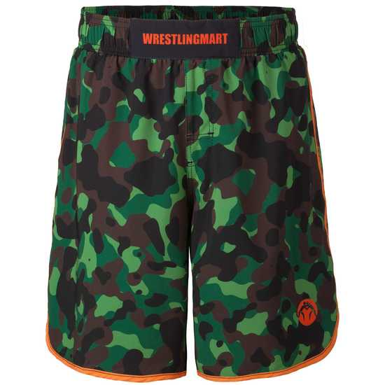 WM Signature Fight Short Limited Green Camo