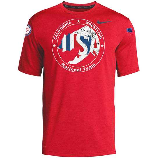 CAUSAW 2020 Cali Tee-Red