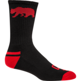 WrestlingMart Performance Sock  black red main