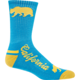 WrestlingMart Performance Sock  blue gold main