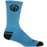 WrestlingMart Performance Sock  light-blue black main