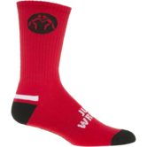The Jake Varner Signature Wrestling Socks (Red,Black,White,Socks,10 14) Red Black White outside