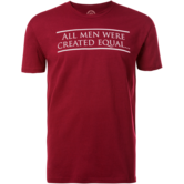 WrestlingMart Wrestle Logo Tee  maroon white main