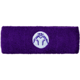WrestlingMart Headband Dark Purple  purple white main