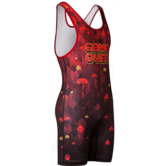 WM Game Over Singlet  red black main