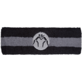 Wrestlingmart head band  black grey main