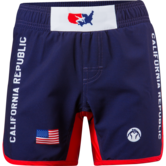 CA USA 2017 Womens Fight short  navy red white main