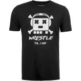 Jolly Wrestler Tee (Black,White,Clothing Adult,S) Black White main