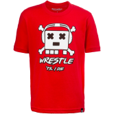WrestlingMart Youth Jolly Tee (Red,White,Black,Clothing Youth,YXS) Red White Black main