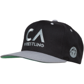 WM CA Wrestling Snap Back  black grey main