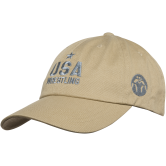 Wm Star USA Low Profile Hat  beige grey main